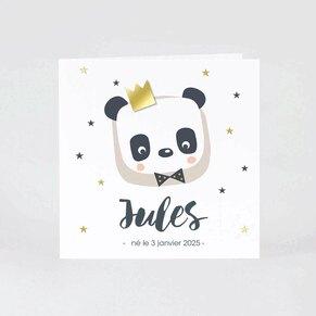 faire-part-naissance-panda-roi-craquant-buromac-507008-TA507-008-09-1